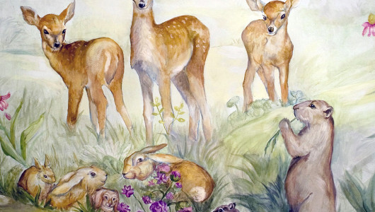 childrensroom-animals