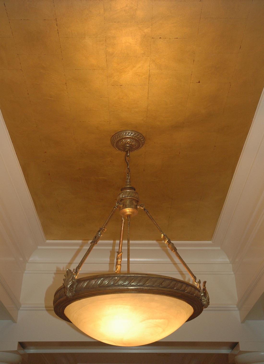 Charming Gold Leaf Ceiling. Fairfax, VA U2014 Karen Dunlap, KMD Interiors